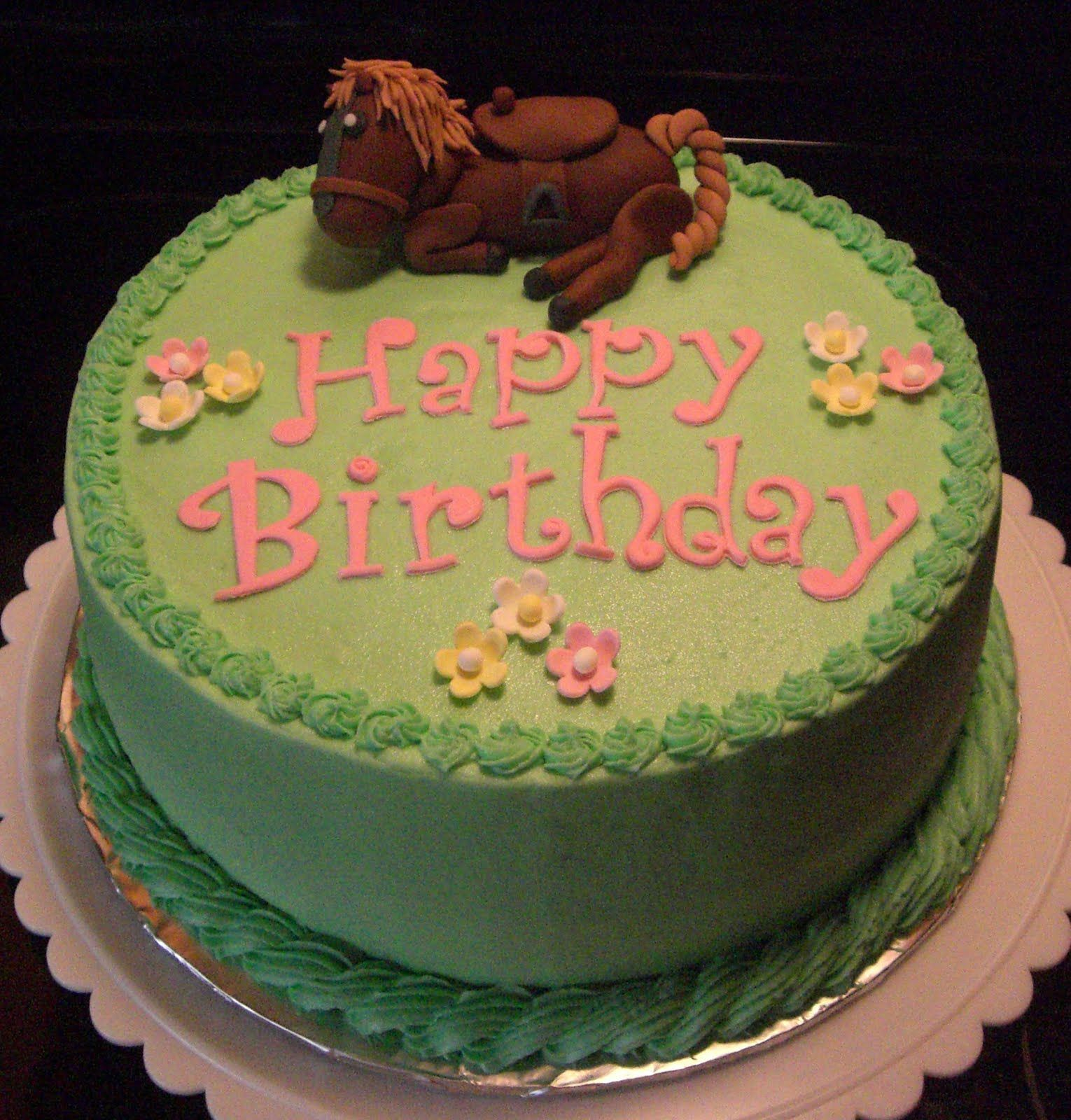 Horse Birthday Cakes Horse Lover S Birthday Cake This Is A 9 Inch