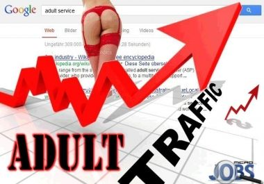 Organic traffic for Adult sites through Google for $5