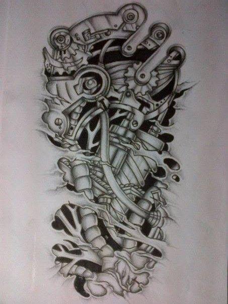 Biomechanical Tattoo Line Drawing : Https google blank ideas pinterest