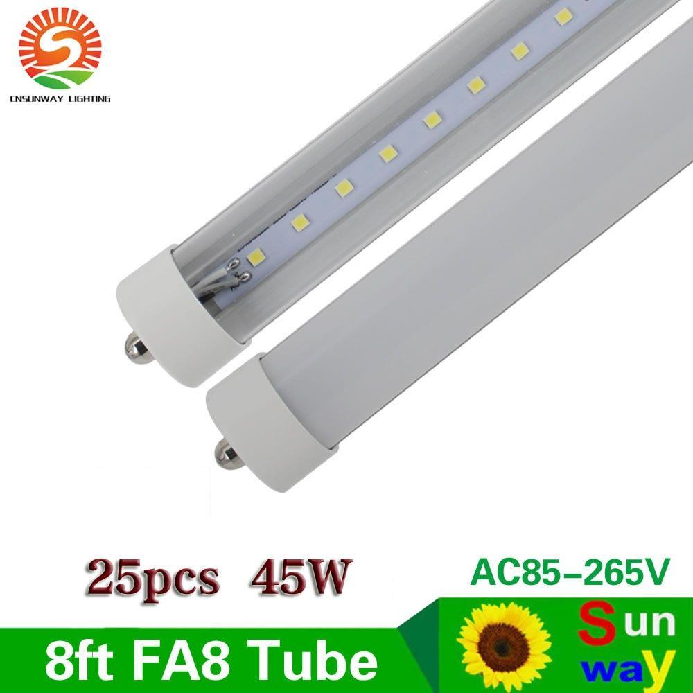 Find More Led Bulbs Tubes Information About Fa8 Single Pin 8ft Led Tube Lights T8 2 4m 8 Ft Led Tube Light Smd2835 Fluore Led Tube Light Tube Light Led Tubes
