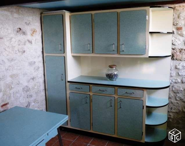 meubles cuisine formica vintage ameublement lot-et-garonne ... - Meuble Cuisine Formica