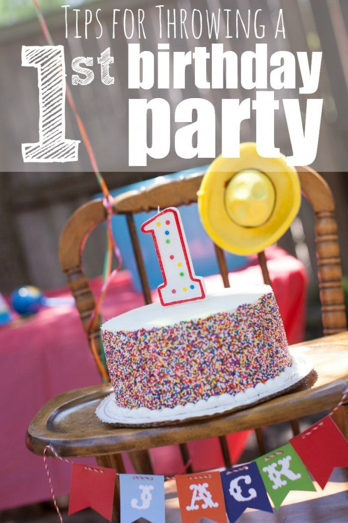 Tips for Throwing a First Birthday Party Houston Moms Blog 1st