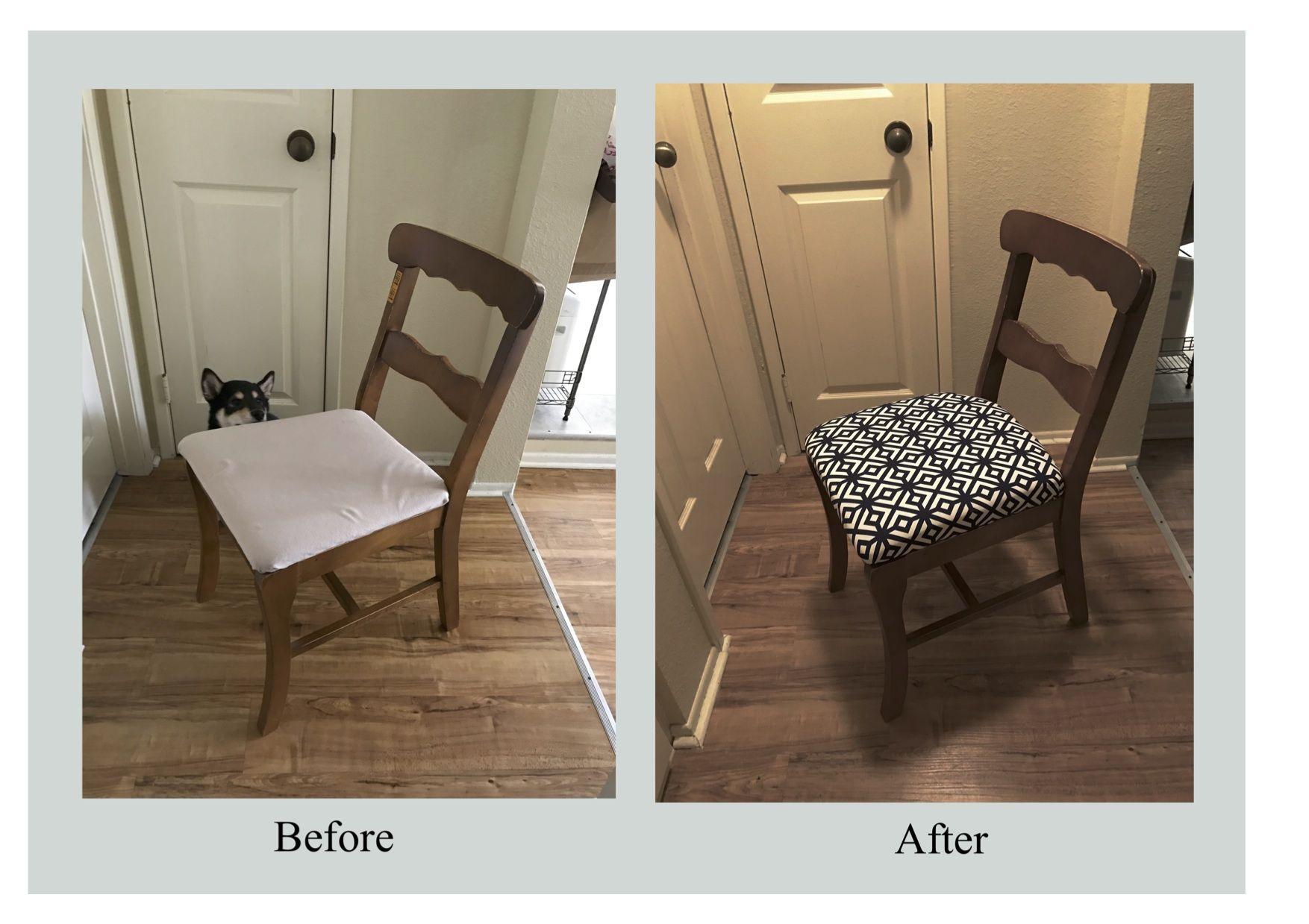 DIY 椅子の張り替え