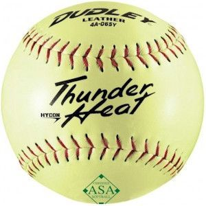 Dudley Thunder Heat 12in Slowpitch Softball - 52/300 - ASA