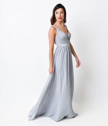 This Simple Yet Elegant Dress Features A Pleated Bodice With A