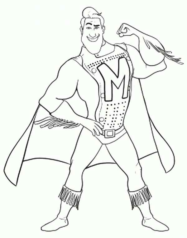 Metroman From Megamind Coloring Pages Bulk Color Superhero Coloring Pages Coloring Pages Ladybug Coloring Page