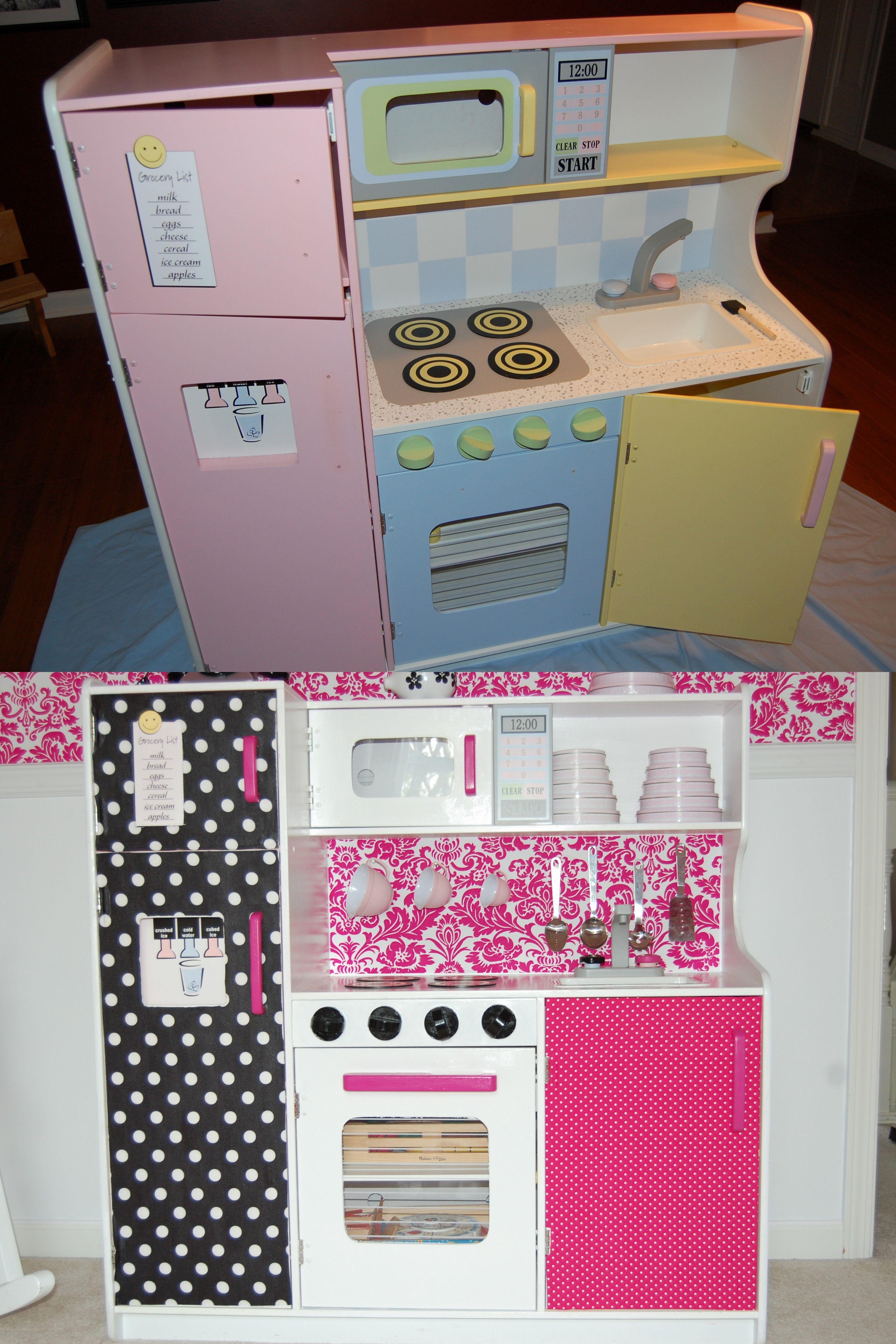 Diy Kitchen Make Over For Baby Girl