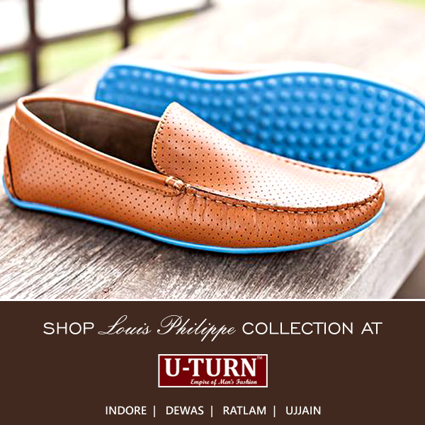 These loafers would immediately set you apart from the crowd.  Shop Louis Philippe collection at U TURN.