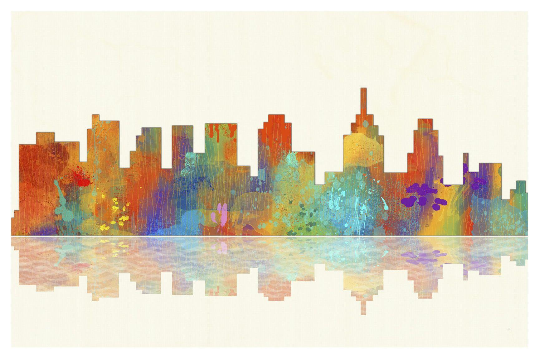 Philadelphia pennsylvania skyline 1 by marlene watson