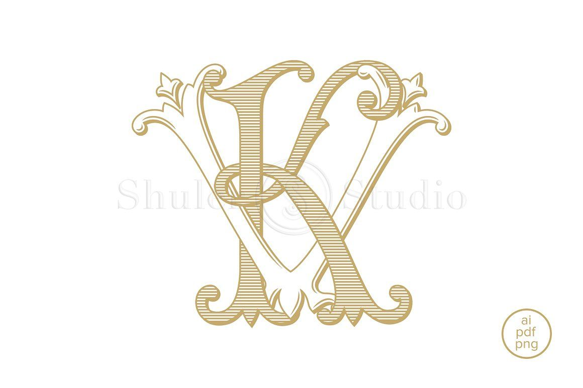 Kv Monogram Vk Monogram Monogram Monogram Tattoo Monogram Logo