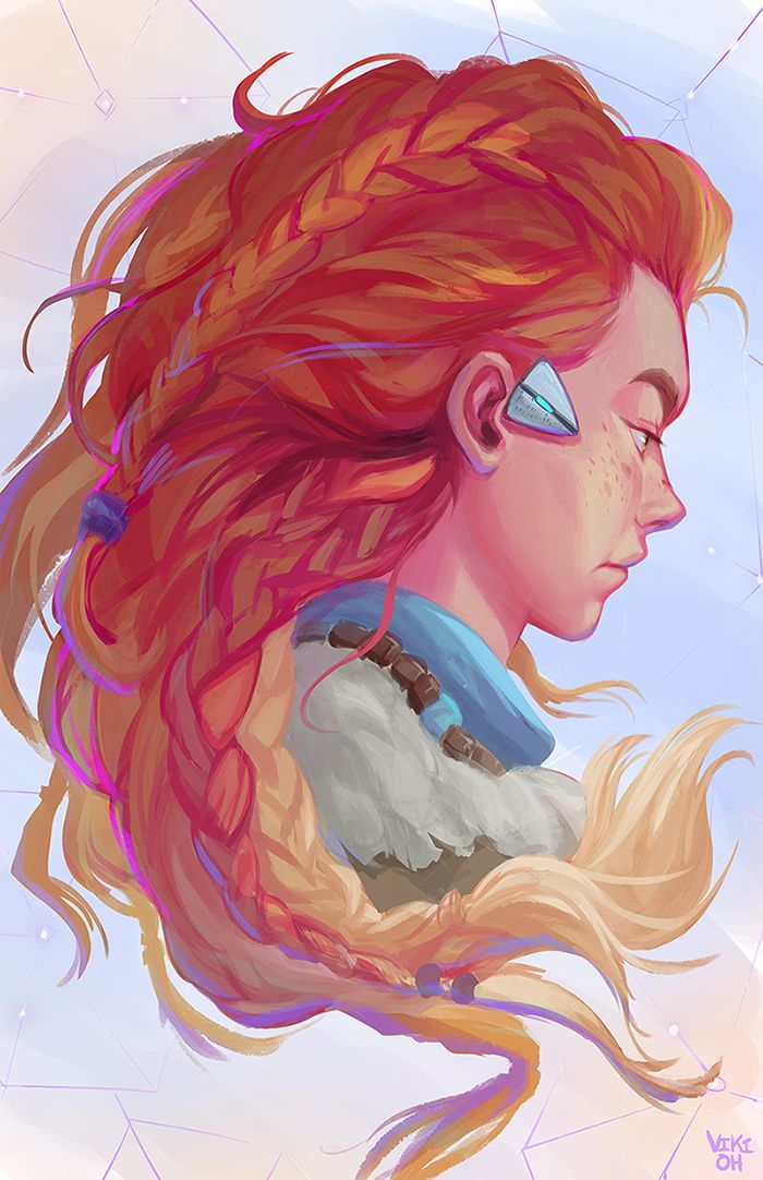 Horizon Zero Dawn Drawing Horizon Zero Dawn Horizon Zero Dawn Aloy Art