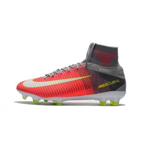 Nike Mercurial - Best 2017 Nike Mercurial Superfly V CR7 Pink Grey Mens  Soccer Shoes bd7dde472c85d
