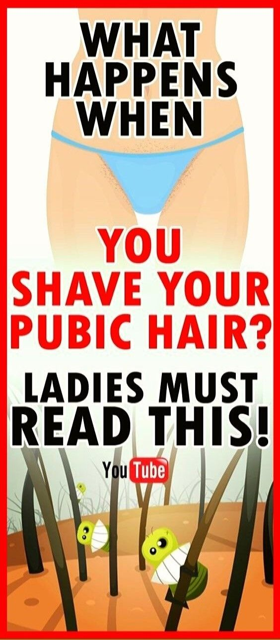 For All The Ladies Who Shave Their Pubic