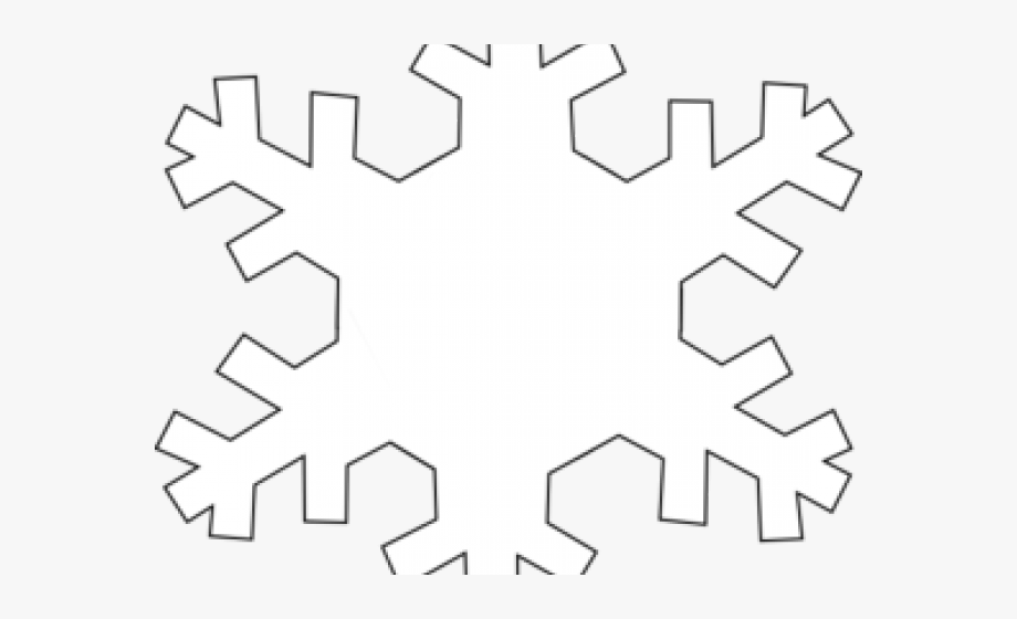 Download And Share Snowflakes Clipart Outline Solid Snowflake Png Cartoon Seach More Similar Free Transparent C Snowflake Clipart Clip Art Clip Art Borders