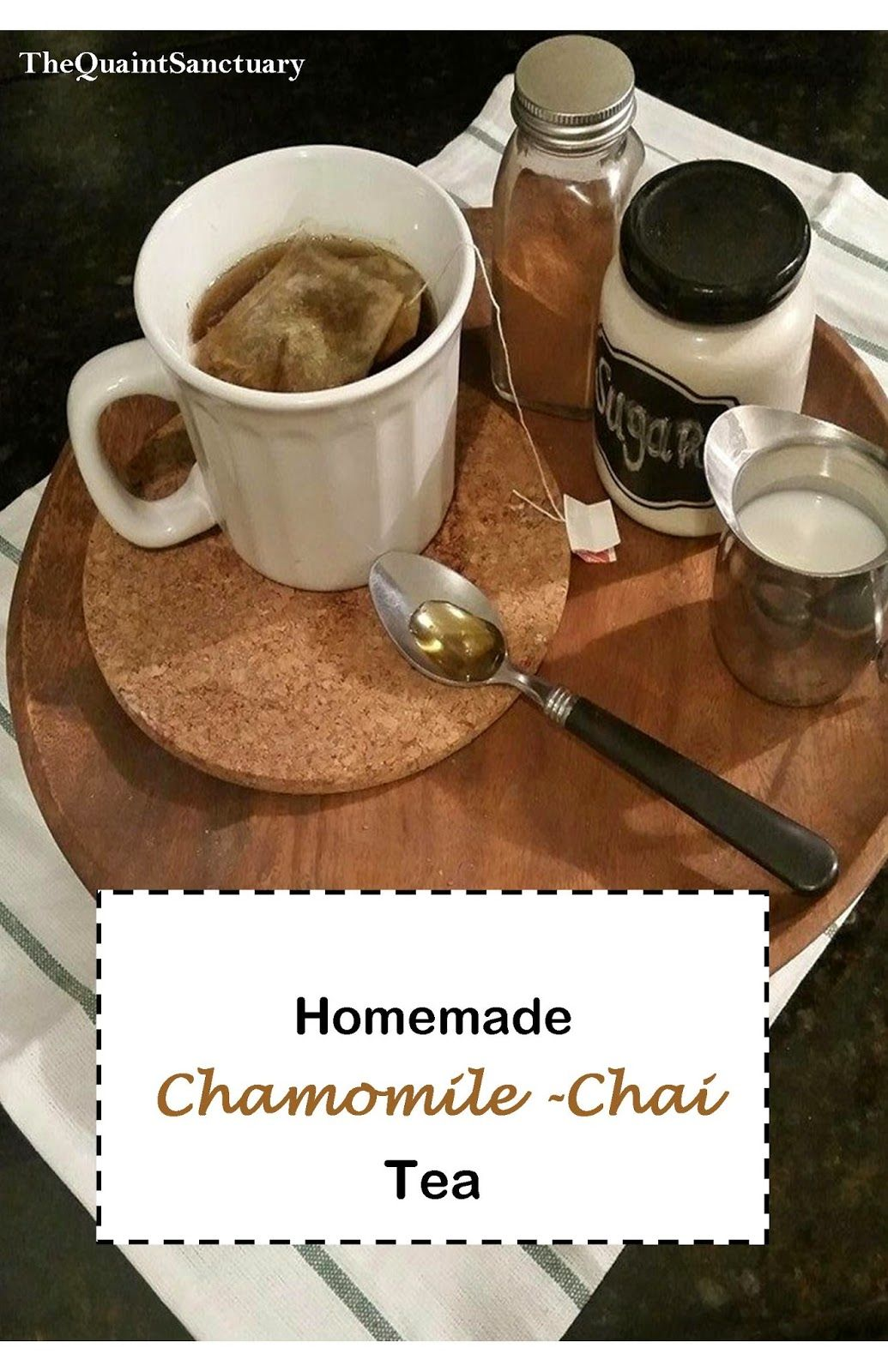 how to make chamomile tea at home