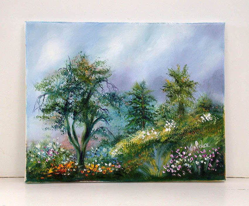 Original painting print of Spring 8x10