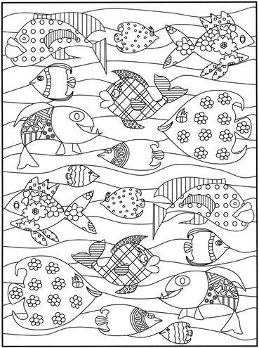 Poisson d 39 avril coloriage ce1 coloriage coloriage poisson et colorier - Dessin enfant poisson ...