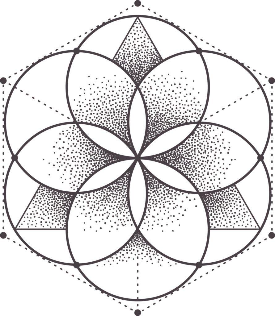 Como hacer mandalas faciles sencillo tattoos pinterest geometr a geometr a sagrada and - Mandala facile ...
