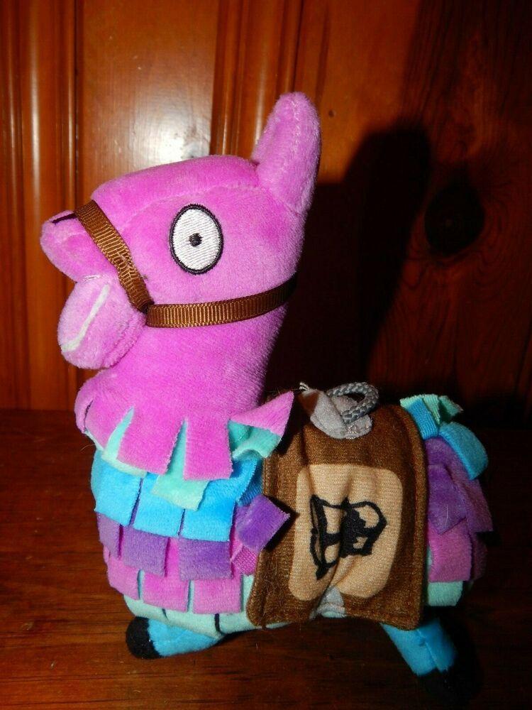 "Fortnite Loot Llama Piñata Plush Soft Toy 7"" Epic Games"