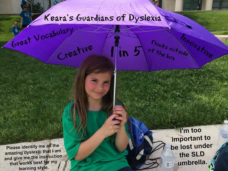 From Decoding Dyslexia-IN. We couldn't have said it better, Keara! Thanks for all you do to raise awareness and seek change for the #1in5!