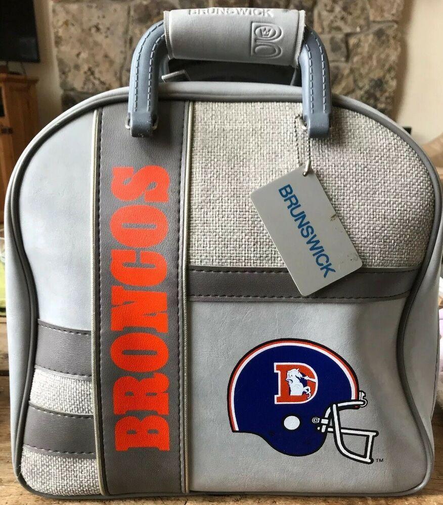 Adver Ebay Nfl Denver Broncos Brunswick Bowling