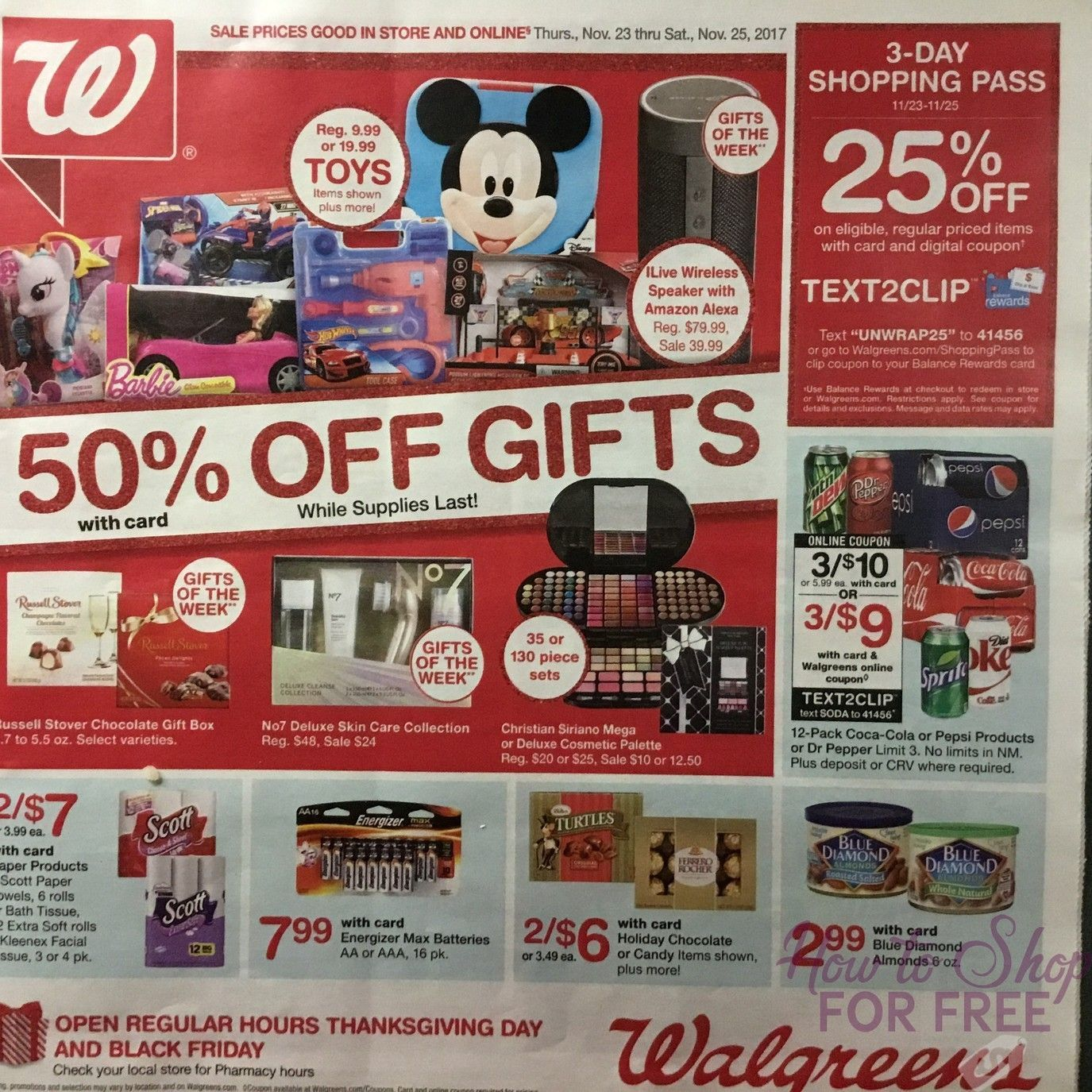 Walgreens 2018 Black Friday Ad Page County High School