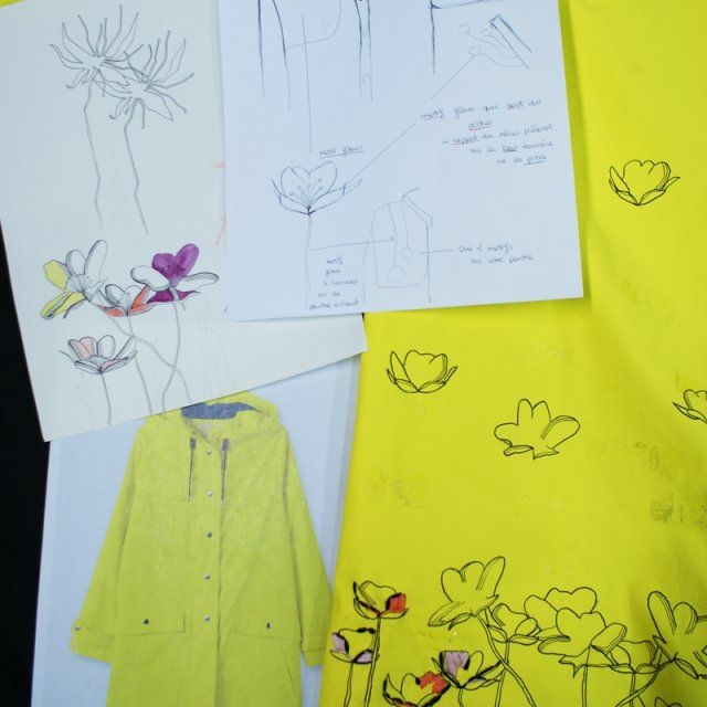 Broderie flowers / Embroidery