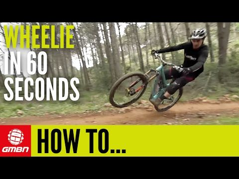 Video How To Wheelie In 60 Seconds Hardtail Mountain Bike