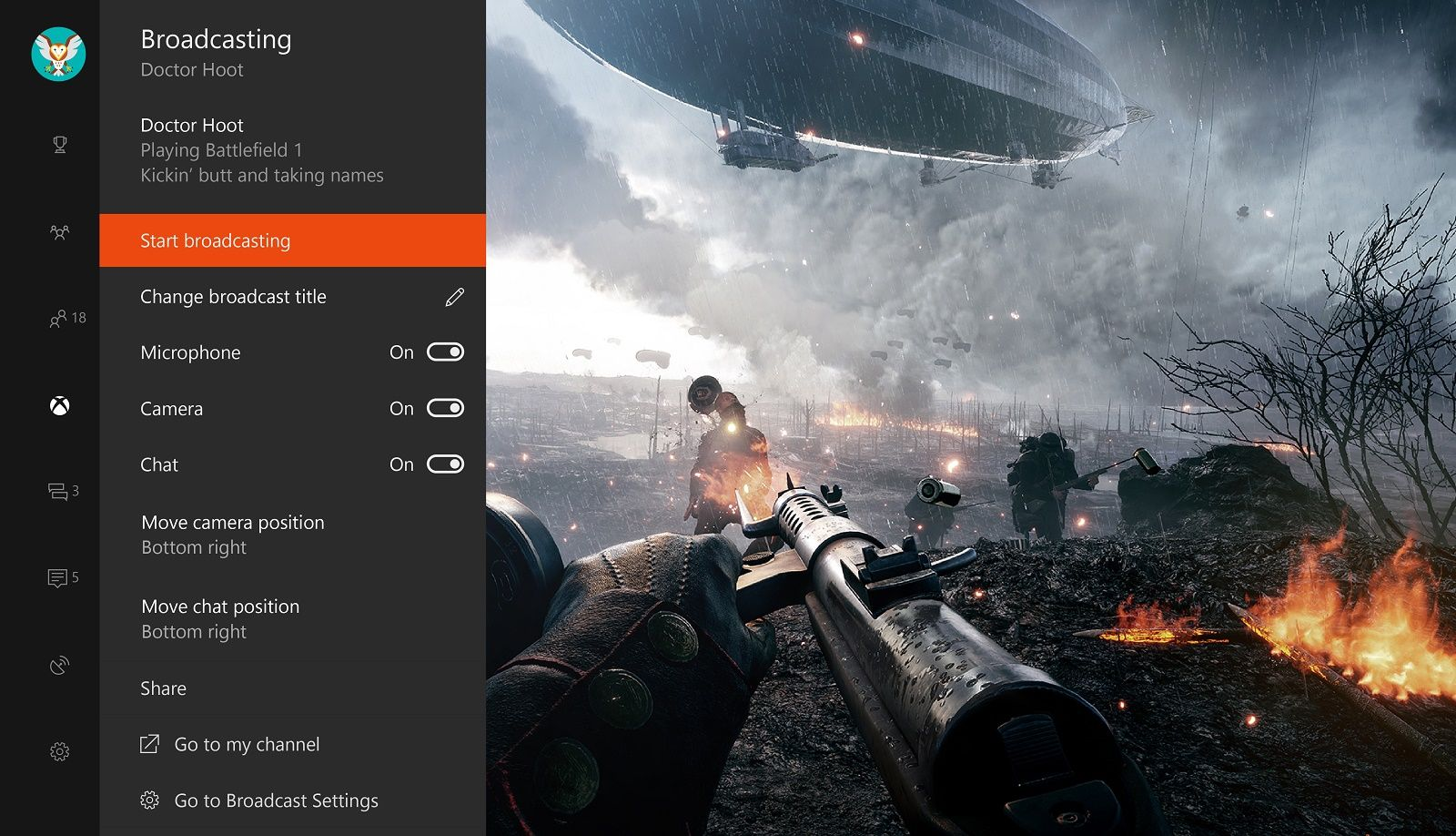 Microsoft Launches Game Streaming App Beam on Xbox One: Full
