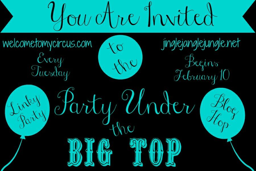 Pin On Party Under The Big Top