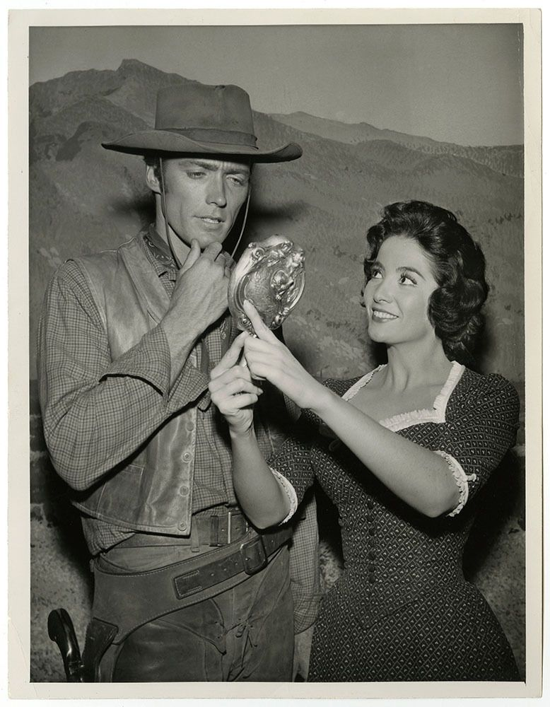 Clint Eastwood Linda Cristal Vintage 1959 Western Rawhide Television Photograph https://t.co/Li1fkcwdVL https://t.co/dM4JTnPAm6