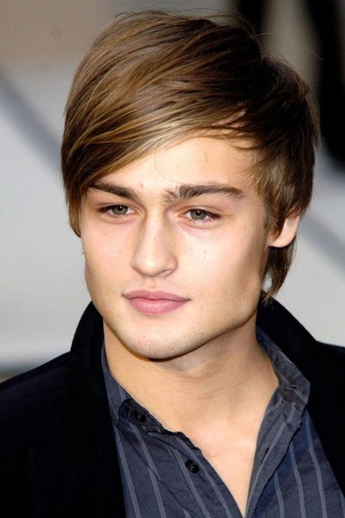 Side swept long bangs hairstyles for Grant Pinterest - peinados hombre
