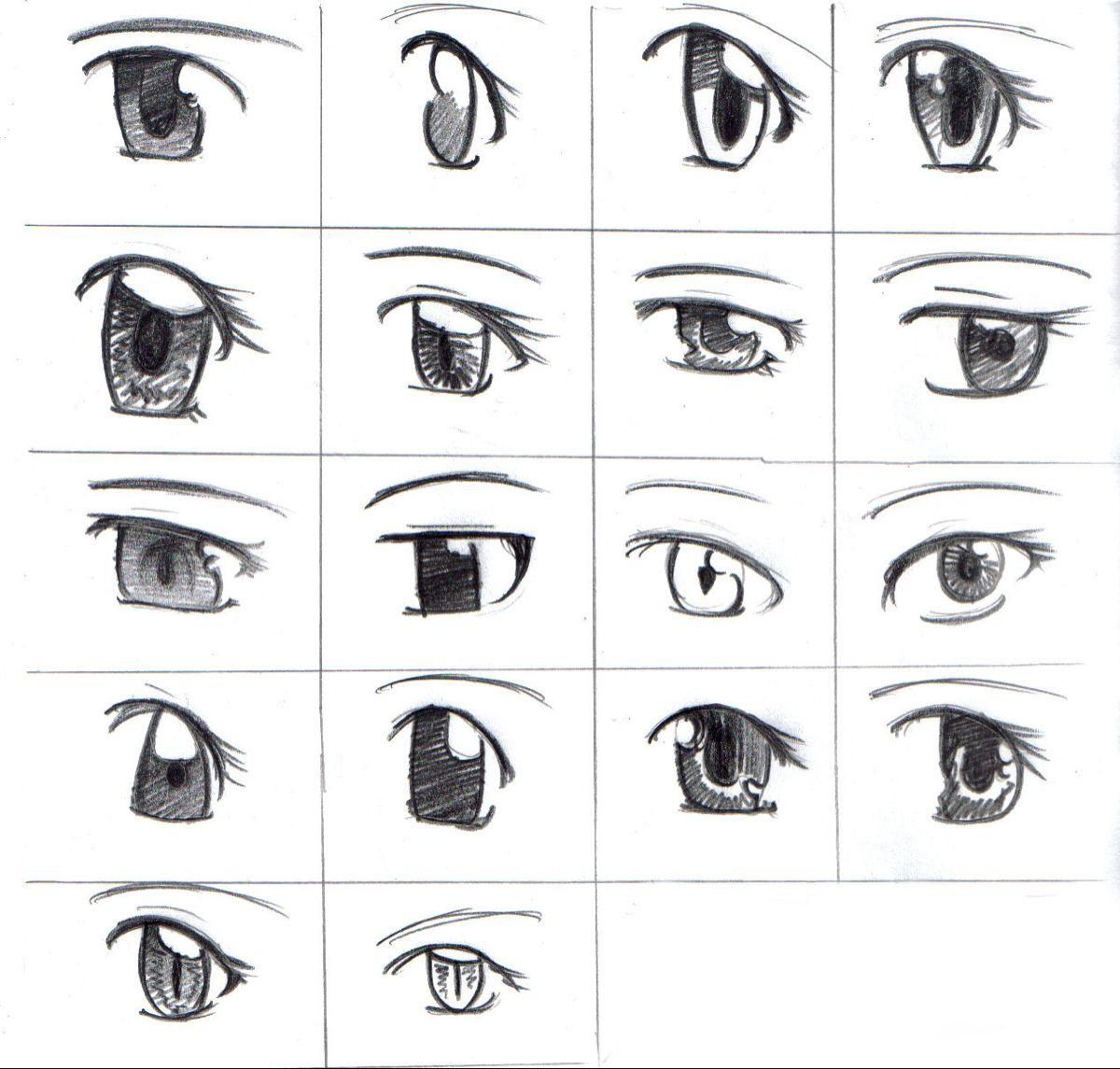 How To Draw Manga Anime Eyes Tutorial Easy Simple Beginner Steps Wow Sketch Drawing Anime Eye Drawing Anime Eyes Easy Cartoon Drawings