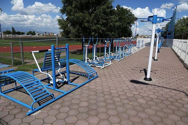 Instalaciones deportivas en San Andrés Cholula, de primer nivel