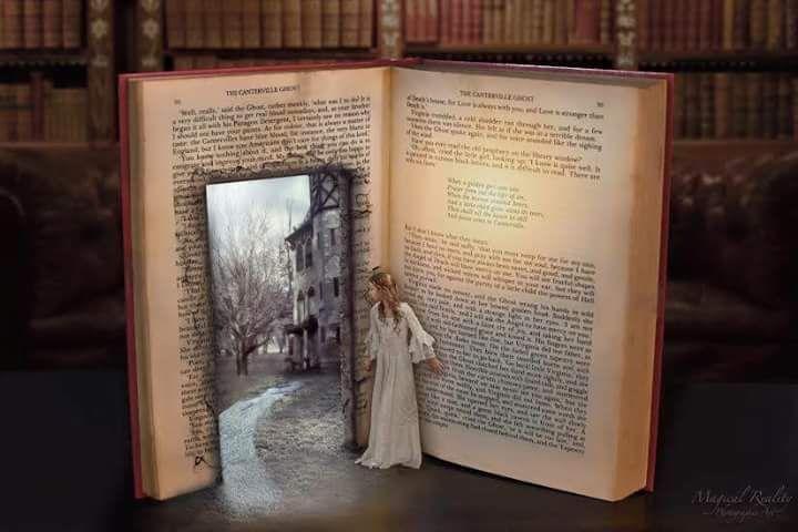 Entrar en un libro <3