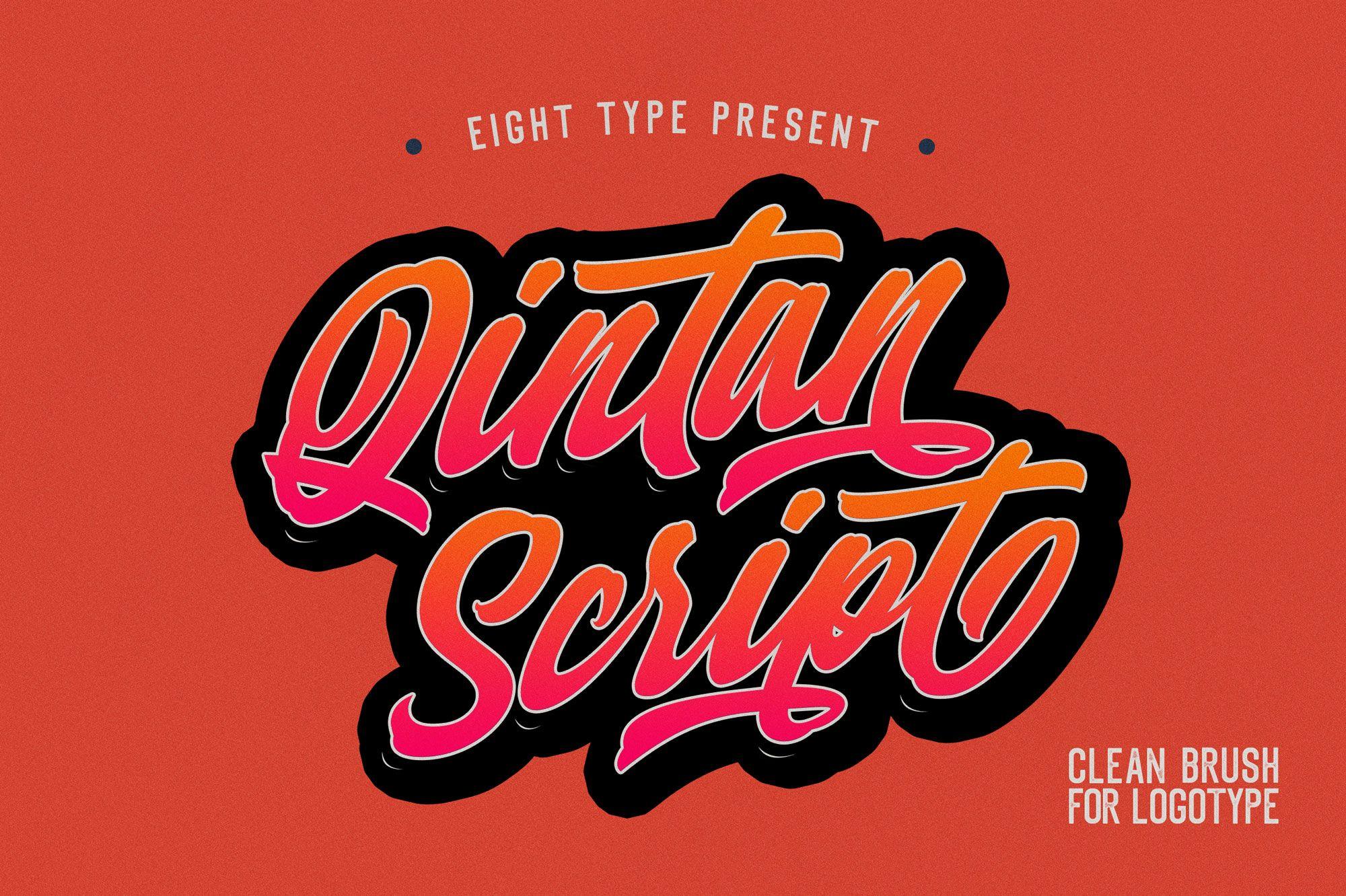 qintan script pixelify best free fonts mockups templates and