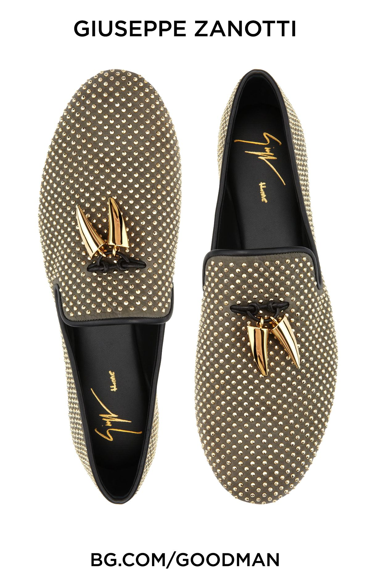 Giuseppe Zanotti Mens Studded Toggle Slipper Vaky Kaky Dress Shoes Men Gentleman Shoes Studs Men [ 1860 x 1200 Pixel ]