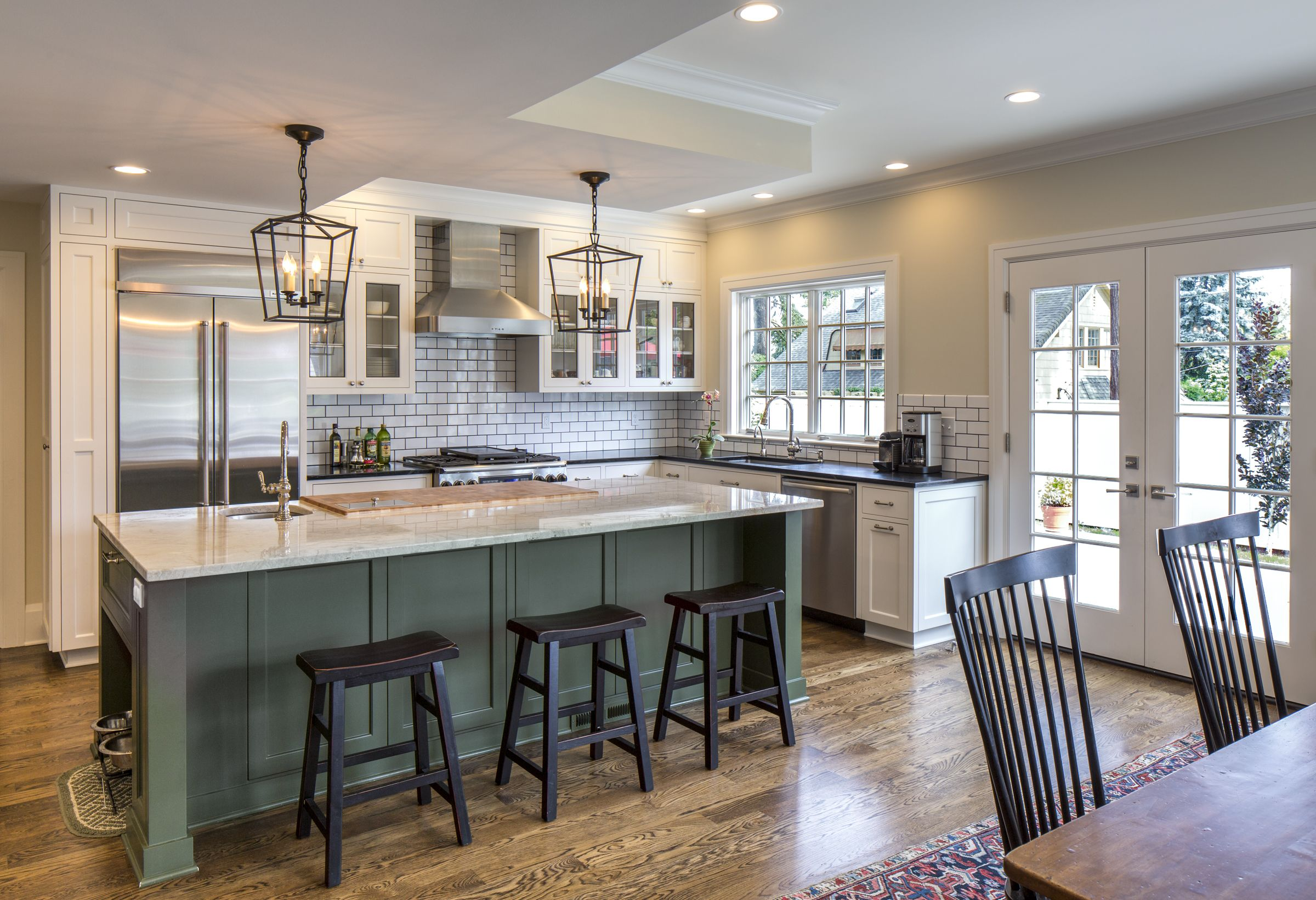 2-story addition to this Colonial home includes a large ...