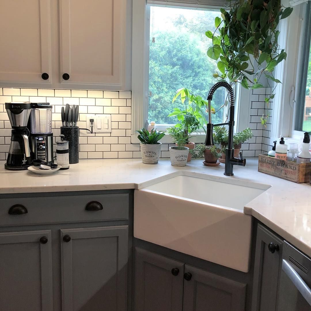 Terrific Pictures Corner Farmhouse Sink Suggestions Being From Ireland And Having Included The Beauti In 2021 Kitchen Remodel Small Kitchen Design Kitchen Design Small