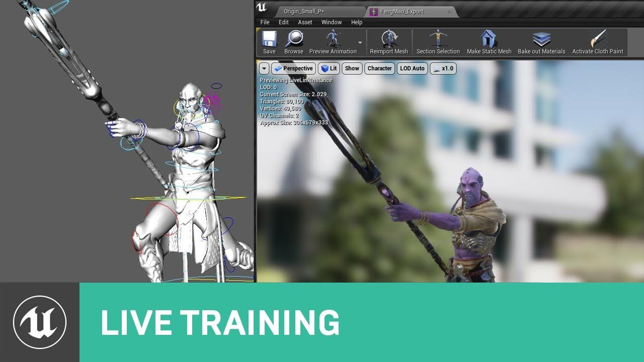 Live Link 4 20 Updates Live Training Unreal Engine Livestream