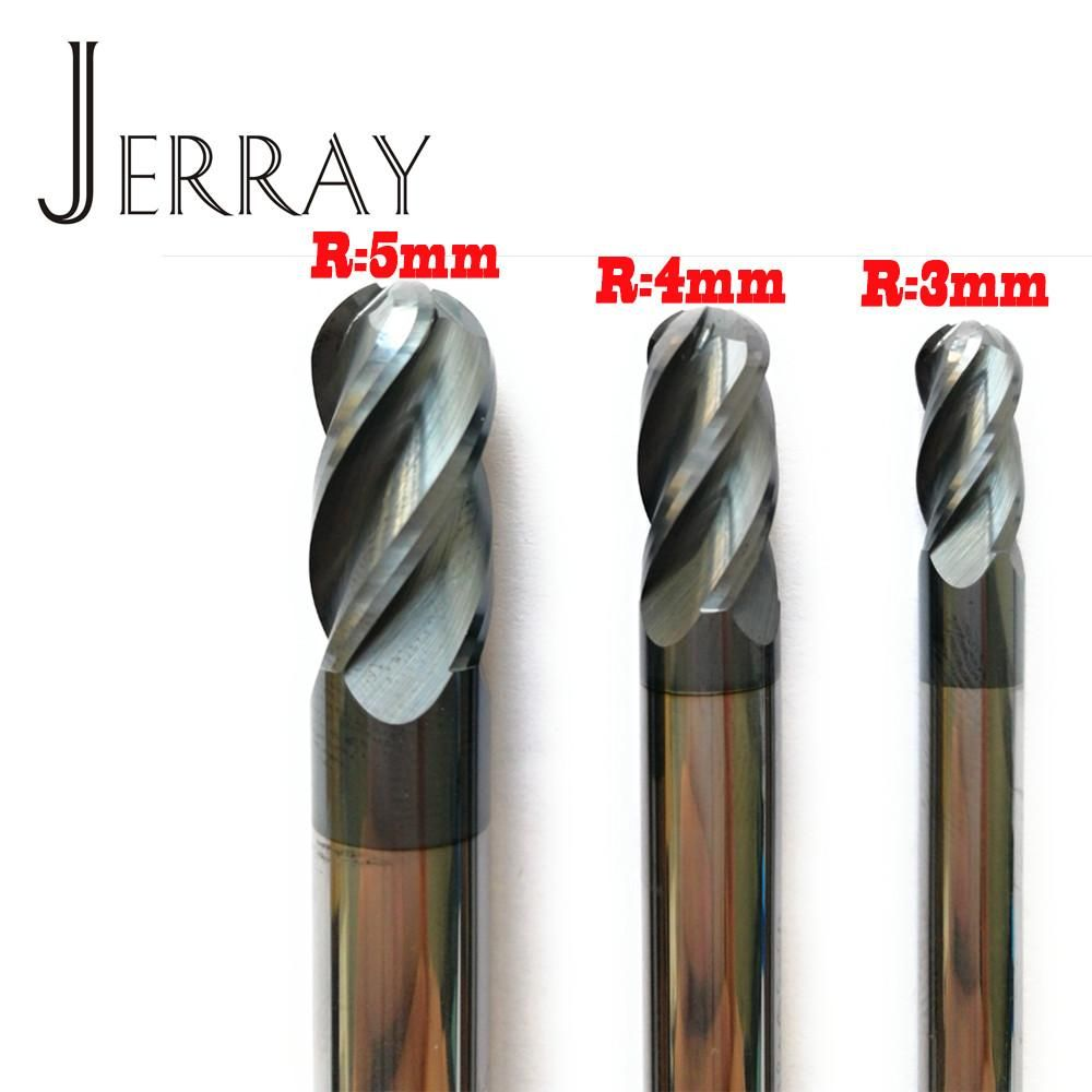 3mm Solid Carbide CNC Engraving End Mill 4mm Shank 4 Flute TiAIN CNC Router Bits