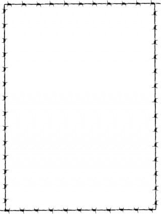 Revans Barbed Wire Border clip art | Christmas | Pinterest | Clip ...