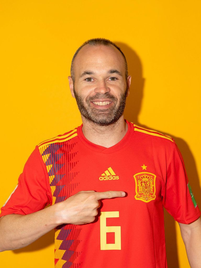 14a3fc6f2 Spain Portraits - 2018 FIFA World Cup Russia