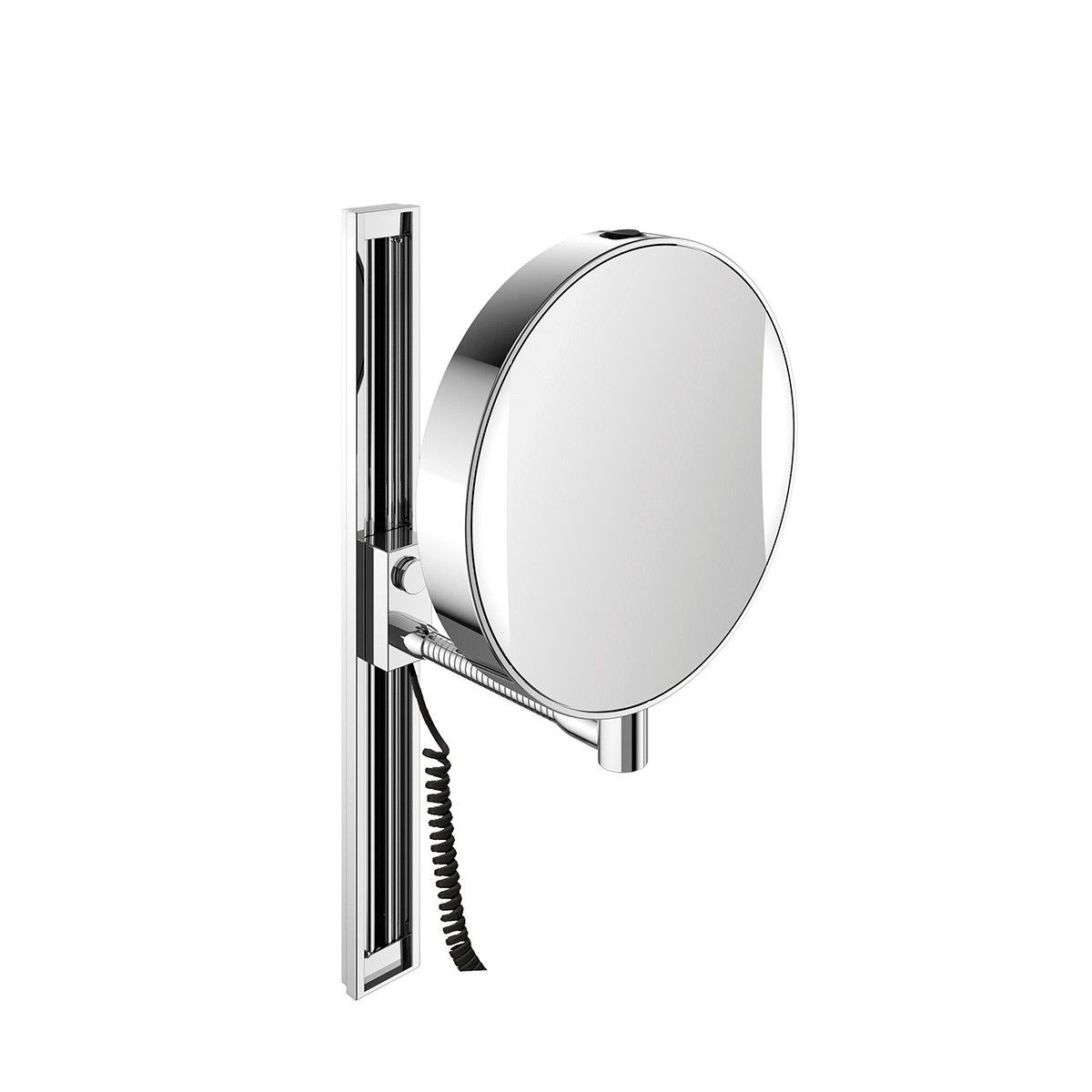 Spiegel 1095 001 12 Height Adjustable Led Lighted Magnifying Mirror 7x 3x Magnifying Mirror Mirror Wall Mounted Magnifying Mirror