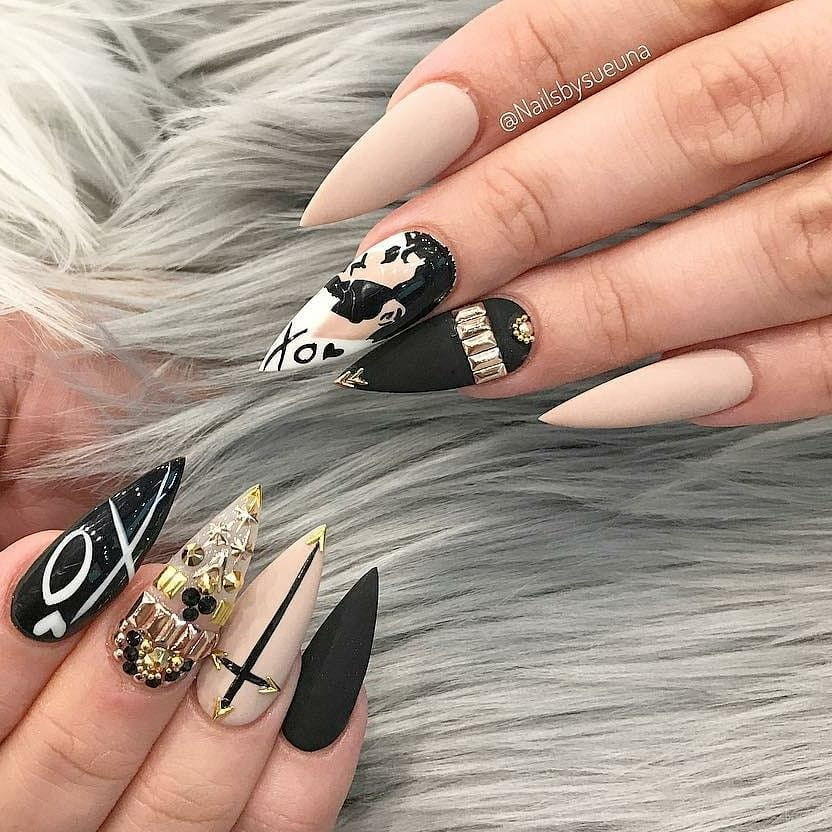 Pin by Le Angel ⛧ on Nail art مناكير | Pinterest | Nails games ...