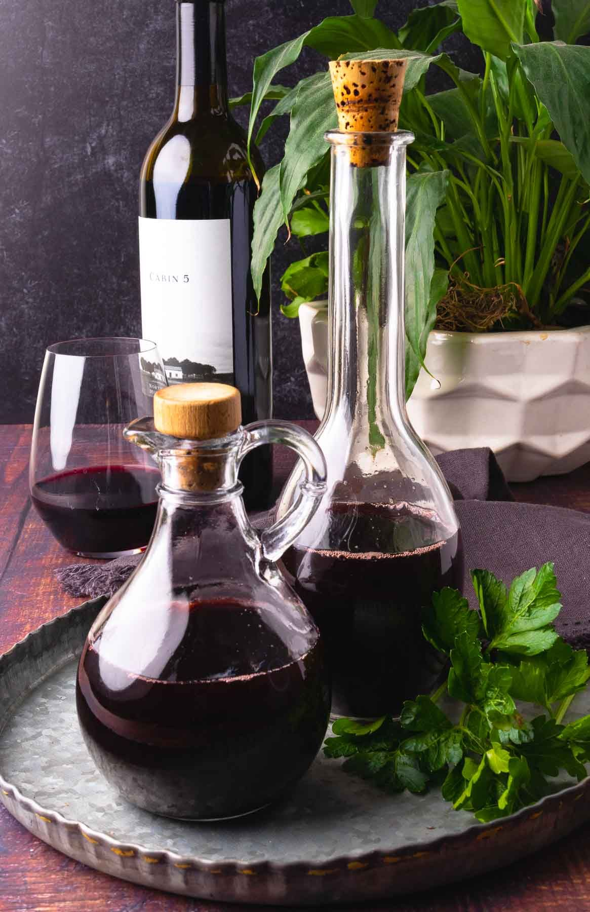How To Make Red Wine Vinegar A Southern Soul In 2021 Red Wine Vinegar Leftover Wine How To Make Red [ 1800 x 1165 Pixel ]