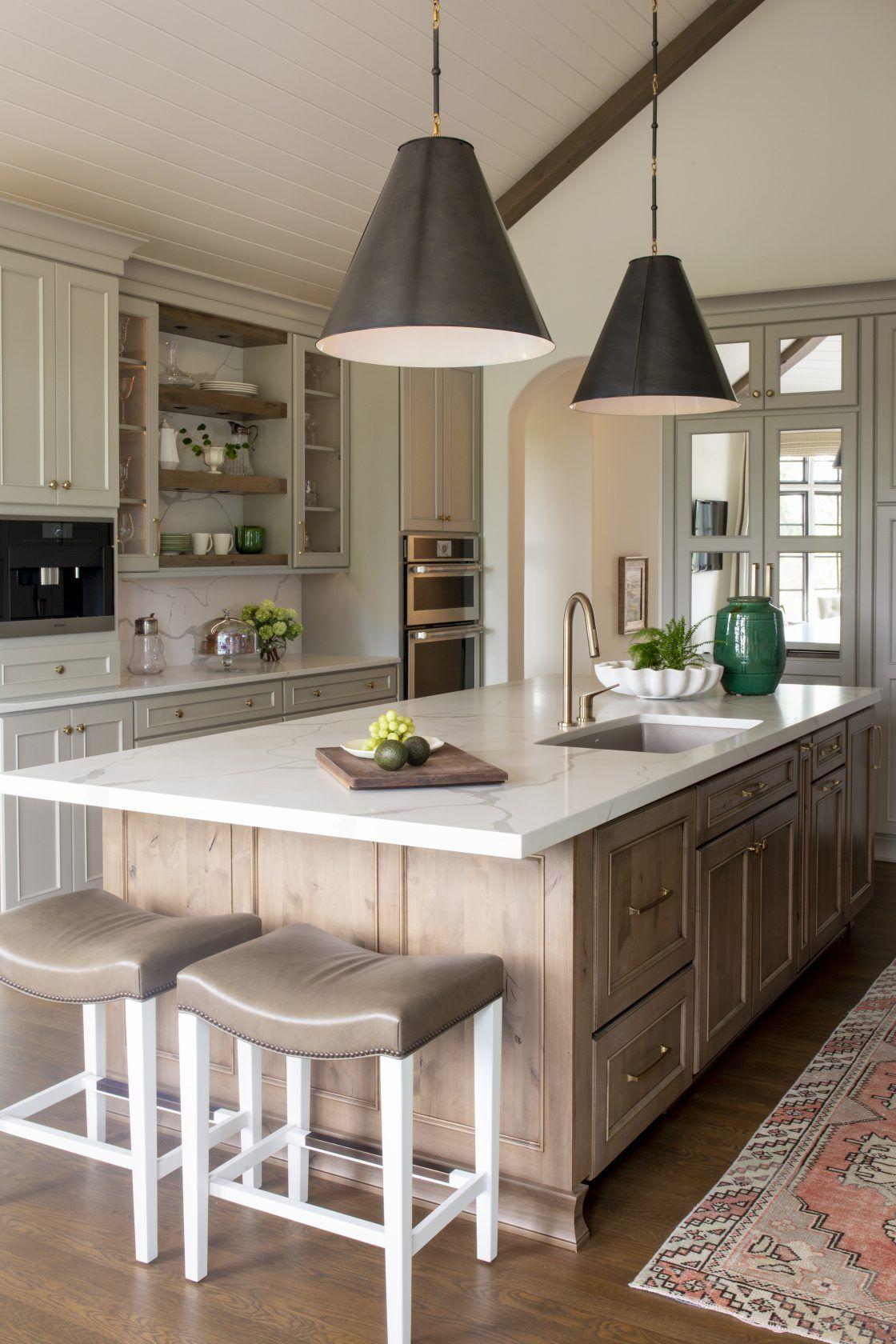 White Wood Kitchen Cabinets Design Adorable European Inspired Remodel R Cartwright Design Kitchen 6464 2