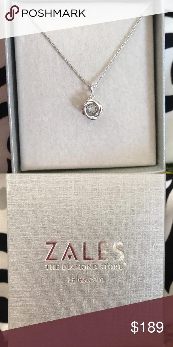 Zales Diamond Necklace Necklace Diamond Necklace Diamond