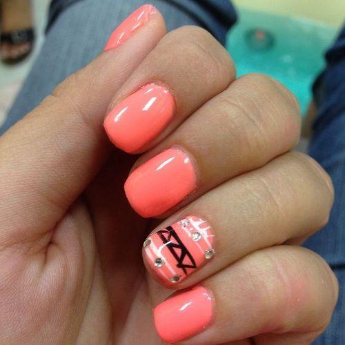 Simple Cute Nail Designs For Short Nails Nail Art Designs Short