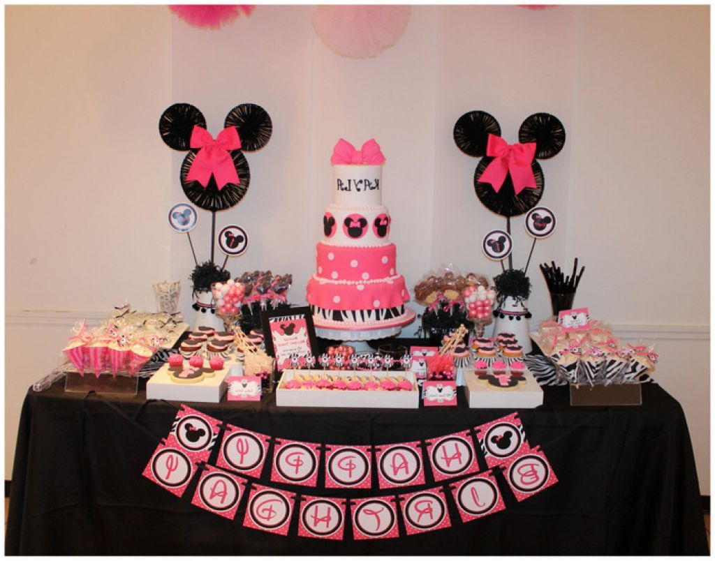 minnie mouse party supplies red and black Related to Birthday